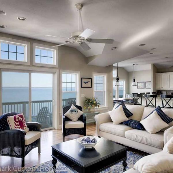 Coastal Buildings by Sandmark Custom Homes Interior