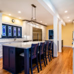 Sandmark Custom Homes remodel of a Mills Point Kitchen.