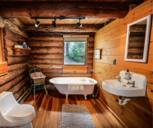 Oh So Rustic Bathrooms