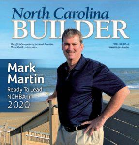 Mark Martin North Carolina builder magazine cover